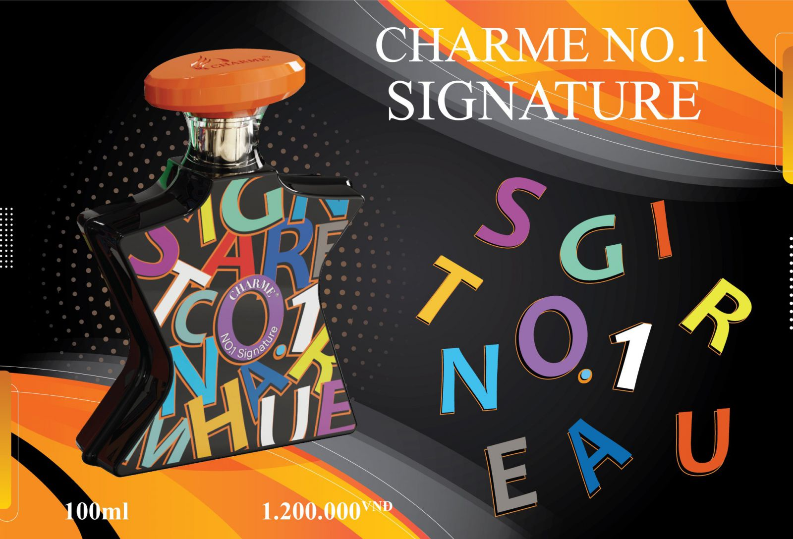 Nước Hoa Charme No.1 Signature 100ml